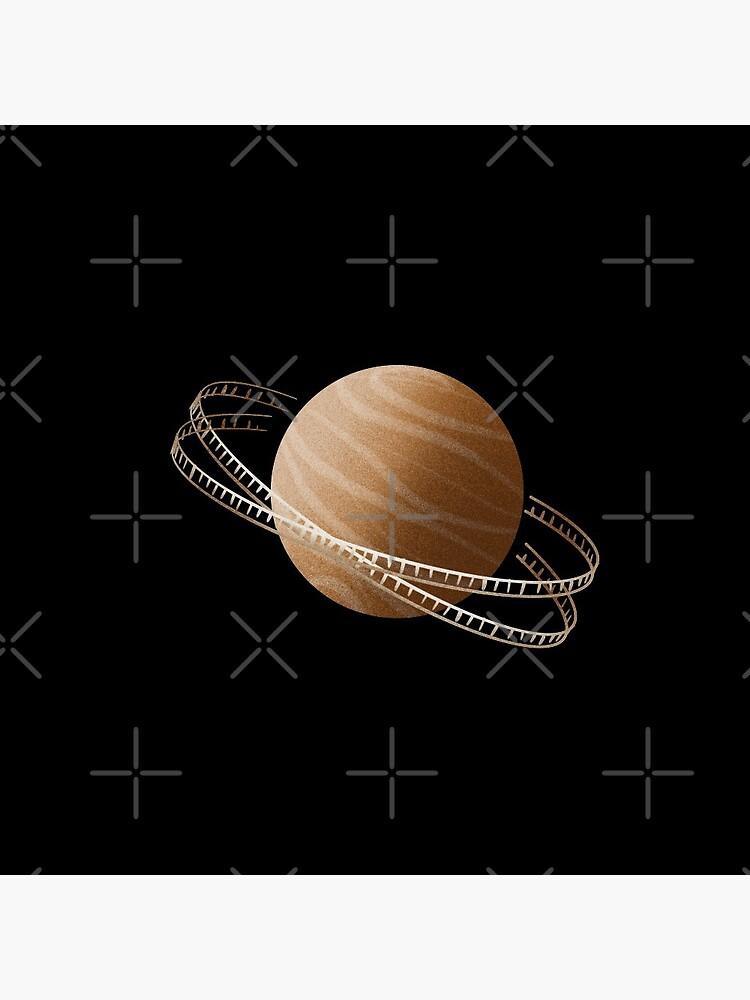 Brown Saturn Film by adarovai