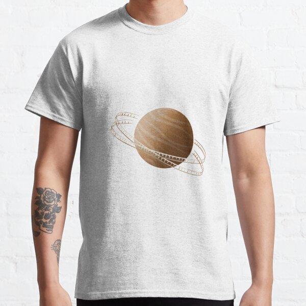 Brown Saturn Film Classic T-Shirt