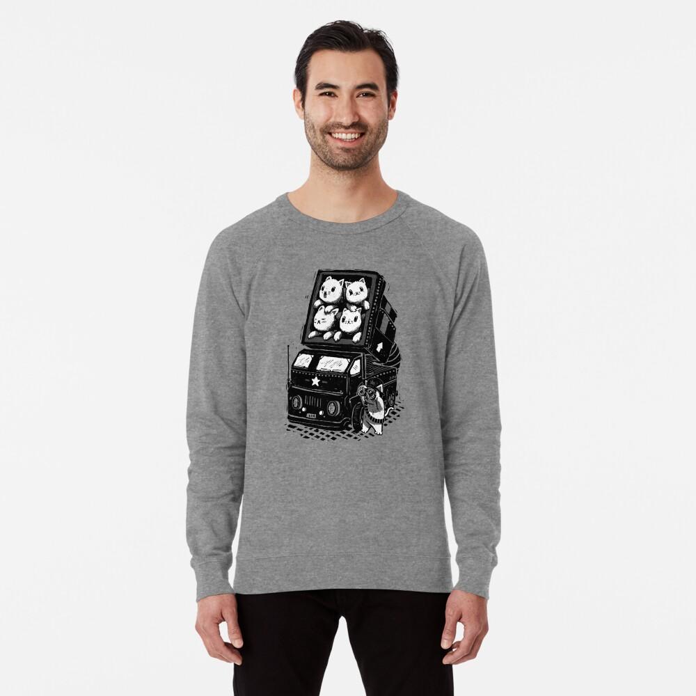 Cat Cats Lightweight Sweatshirt