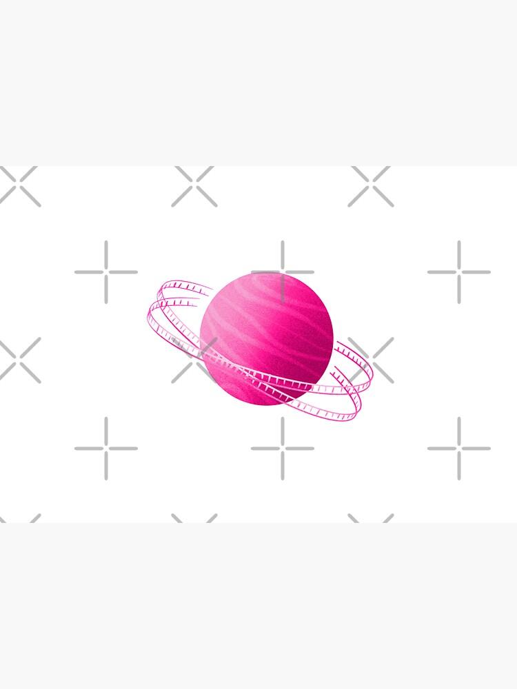 Pink Saturn Film by adarovai