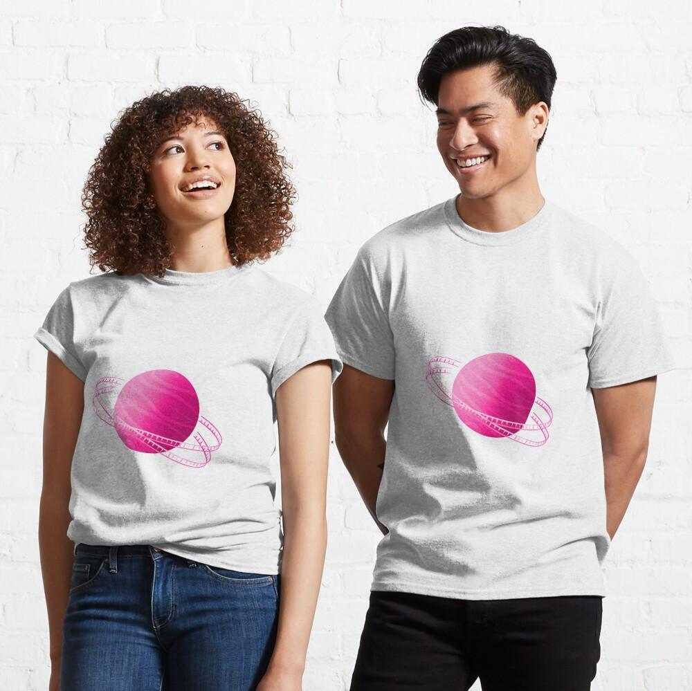 Pink Saturn Film Classic T-Shirt