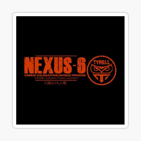 Nexus 6 - Blade Runner - Roy Batty - Replicant Sticker