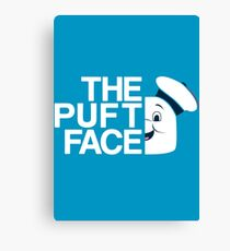 The Puft Face Canvas Print