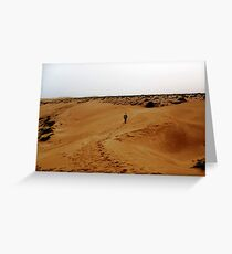 Walk of a Thousand Souls Greeting Card