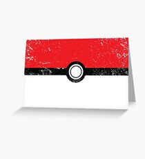 Poke´ball  Greeting Card