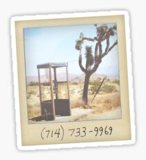 Mojave Phone Booth Sticker