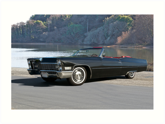 1968 Cadillac DeVille Convertible 'Lakeside' by DaveKoontz