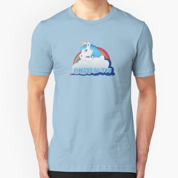 Central Intelligence - Unicorn (Not Faded) Slim Fit T-Shirt