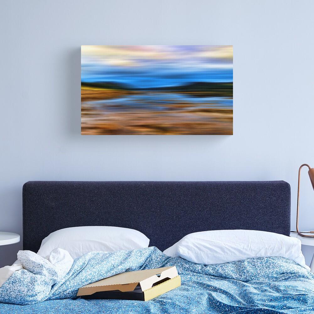 Loch at Low Tide(Loch Fleet) Canvas Print