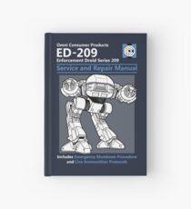 ED-209 Service and Repair Manual Hardcover Journal