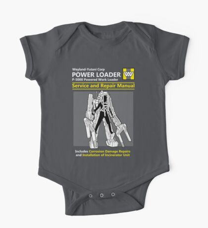 Power Loader Service and Repair Manual Kids Clothes