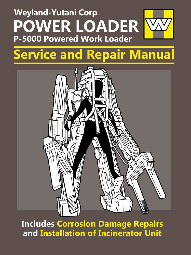 Power Loader Service and Repair Manual | Unisex T-Shirt