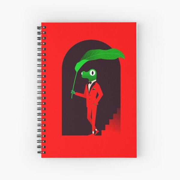 Dapper Frog Spiral Notebook