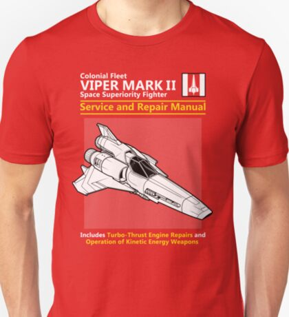 Viper Mark II Service and Repair Manual T-Shirt