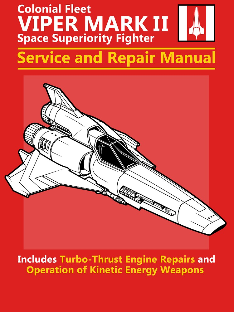 TShirtGifter presents: Viper Mark II Service and Repair Manual | Unisex T-Shirt