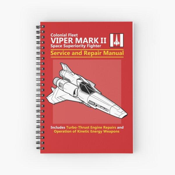 Viper Mark II Service and Repair Manual Spiral Notebook