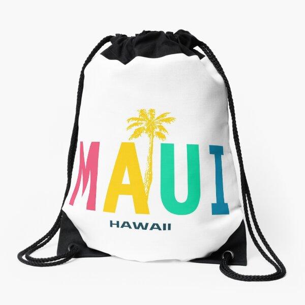 Maui Hawaii Drawstring Bag