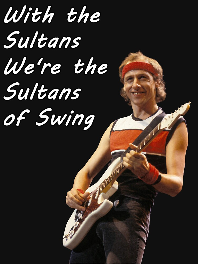 Quot Sultans Of Swing Quot T Shirt By Ziadde Redbubble