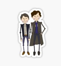 Benedict Cumberbatch's Sherlock inspired design Sticker