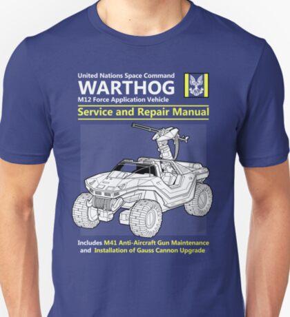 Warthog Service and Repair Manual T-Shirt