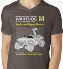 Warthog Service and Repair Manual Mens V-Neck T-Shirt