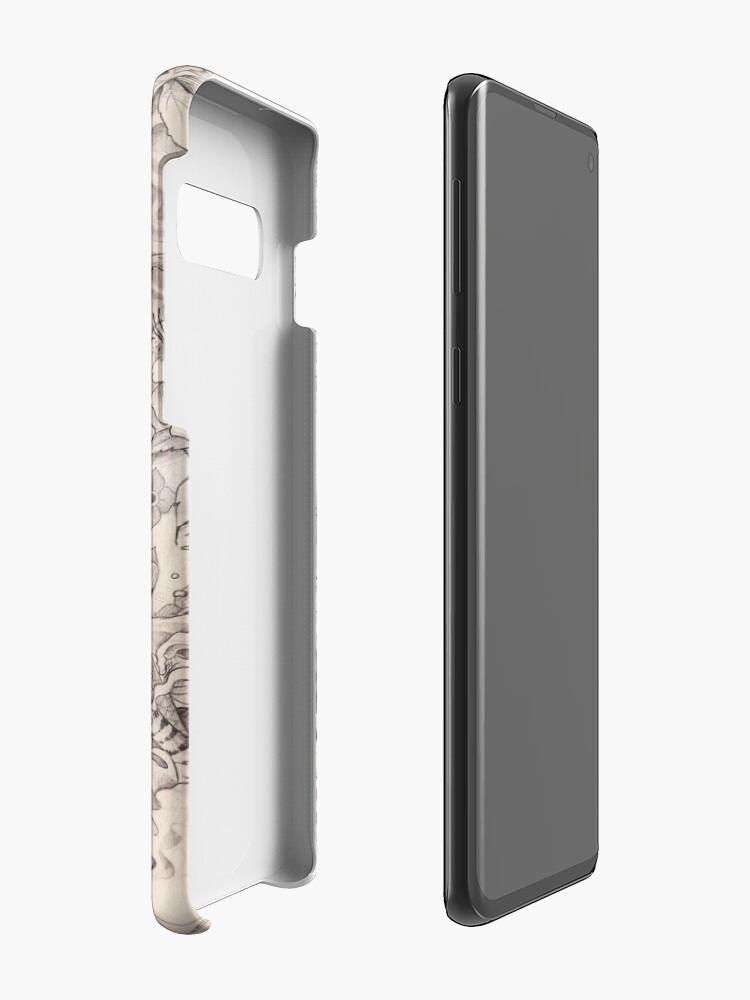 Alternate view of Irezumi Case & Skin for Samsung Galaxy