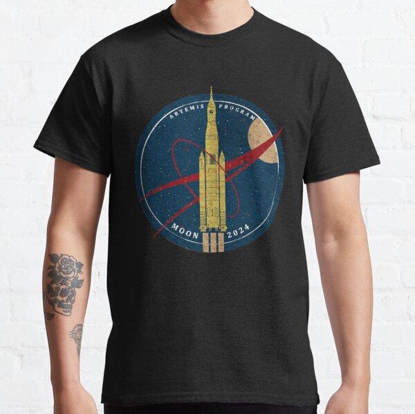 NASA SLS: Artemis Program. Moon 2024 Classic T-Shirt