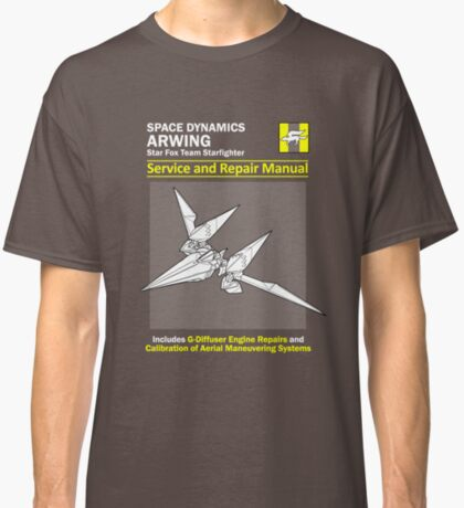 Arwing Service and Repair Manual Classic T-Shirt