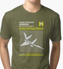 Arwing Service and Repair Manual Tri-blend T-Shirt