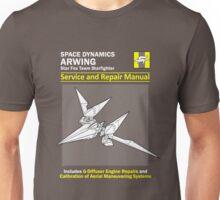 Arwing Service and Repair Manual Unisex T-Shirt
