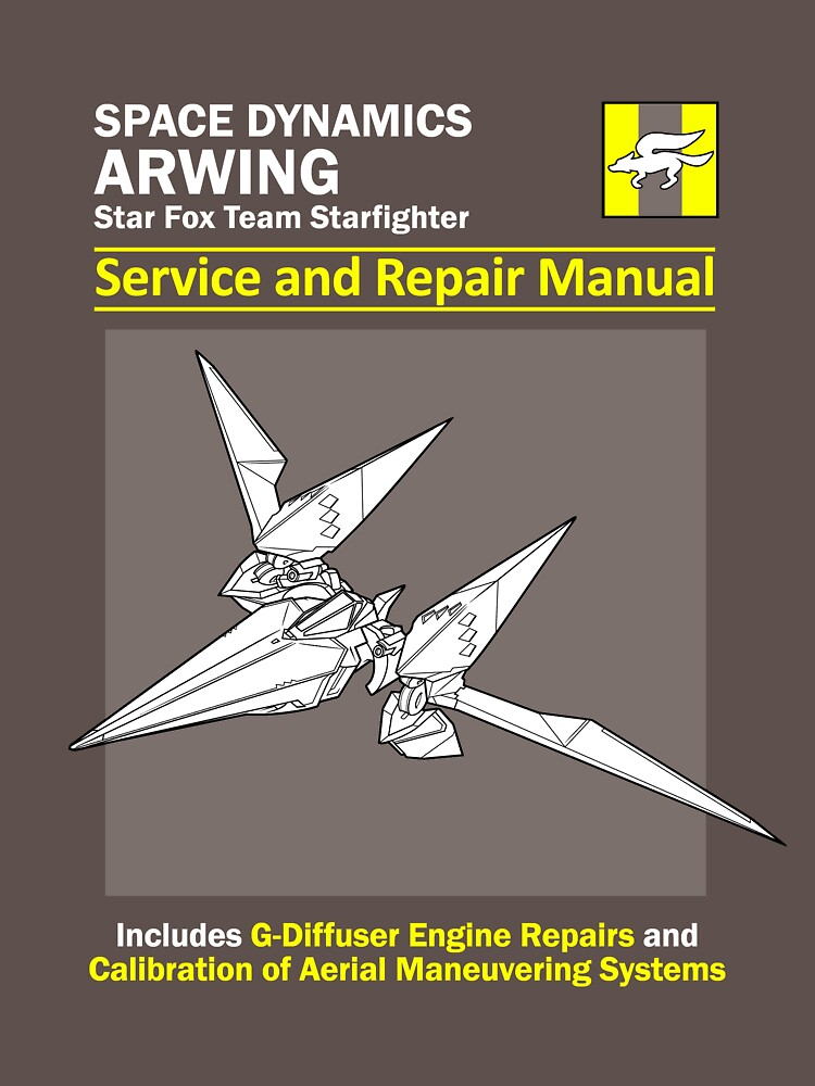Arwing Service and Repair Manual | Unisex T-Shirt