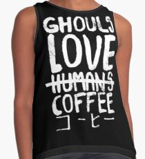 Ghouls love coffee Contrast Tank