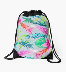Ginger and banana Drawstring Bag