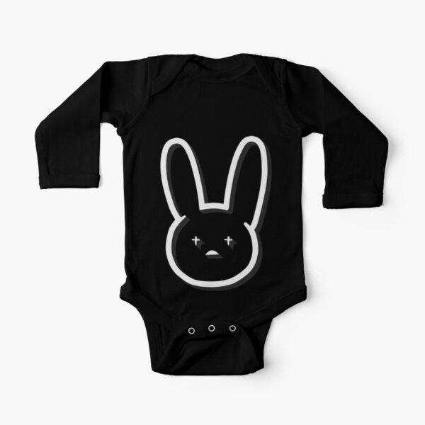 Bad Bunny  Long Sleeve Baby One-Piece