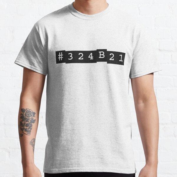 Negro huérfano Camiseta clásica