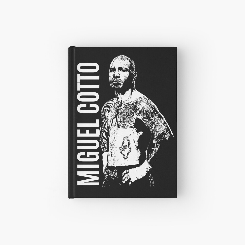 Miguel Cotto Hardcover Journal