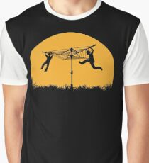 Merry Go Sunset Graphic T-Shirt