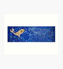 Redreaming Ocean Art Print
