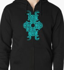 "Shadow of the Colossus ""Sigil Mark"" Colossus weak point Zipped Hoodie"