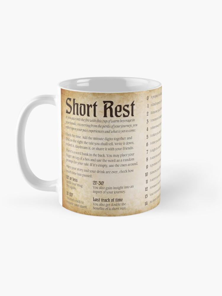 Alternate view of Short Rest Mug