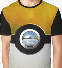 yellow pokeball Graphic T-Shirt