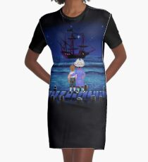 Guybrush & Stan (Monkey Island) Graphic T-Shirt Dress