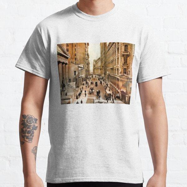 Wall Street New York City 1911 Clr Classic T-Shirt