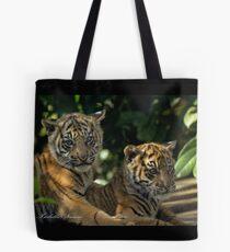 Tiger Cubs Tote Bag