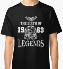 1963-THE BIRTH OF LEGENDS Classic T-Shirt