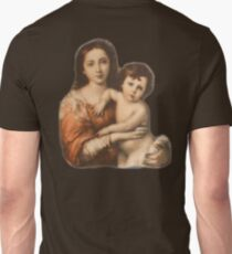 JESUS, Christ, Madonna and Child, Protection, Religion, Biblical, Miracle, Religious Icon T-Shirt