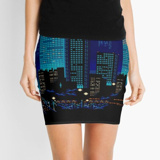 The Streets I Grew Up On Mini Skirt