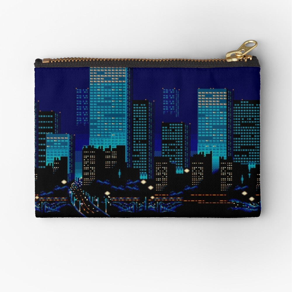 The Streets I Grew Up On Zipper Pouch