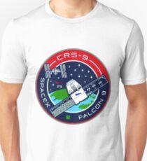 CRS (SpX) 9 Mission Logo T-Shirt