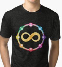 Infinity Healing logo t-shirt Tri-blend T-Shirt